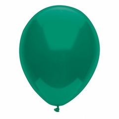 "11"" Forest Green Latex Balloons"