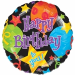 "17"" Birthday Jubilee Helium Savers Balloon"