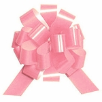Medium Pastel Pink Lacquer Pull Bow