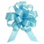 Medium Pastel Blue Lacquer Pull Bow
