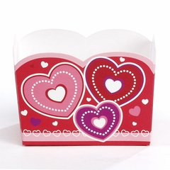 Candy Treat Box (Mini): Dotted Hearts