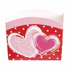 Candy Treat Box (Mini): Valentine Brushed Hearts