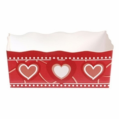 Paper Candy Tray: Valentine Classic Hearts