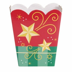 Candy Treat Box (Shallow): Christmas Stars