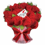 Rose Bouquet Shape Balloon