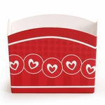 Candy Treat Box (Mini): Circle Hearts