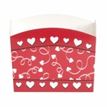 Candy Treat Box (Mini): Valentine Sqiggle Hearts