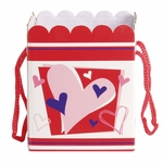 Gift Bag Candy Box: Pink Heart