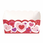 Paper Candy Tray: Heart Outline