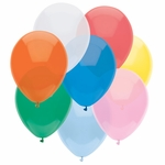 "11"" Standard Assorted Latex Balloons"