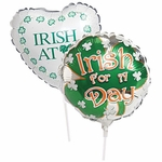 """9"""" St. Patrick's Day Air-Filled Balloons"""
