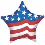 Jumbo Patriotic Star Balloon