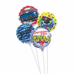 "4"" Graduation Air-Filled Balloons"
