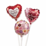 "4"" Sweetest Day Air-Filled Balloons"