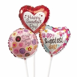 "9"" Sweetest Day Air-Filled Balloons"