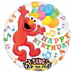 Sesame Street Elmo Birthday Sing-A-Tune Balloon