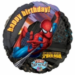 Spider-Man Birthday Sing-A-Tune Balloon