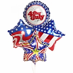 "9"" Patriotic Air-Filled Balloons"