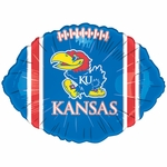 "18"" NCAA University of Kansas Football Balloon"