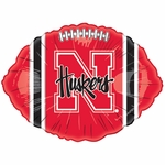"18"" NCAA University of Nebraska Football Balloon"