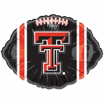 "18"" NCAA Texas Tech Football Balloon"