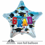 "18"" You Did it Grad Clear View Balloon"
