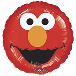 "17"" Sesame Street Elmo Smiles Helium Savers Balloon"