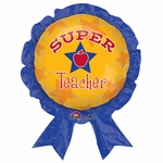 Super Teacher Award Shape Balloon