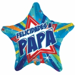 "18"" Shinning Star Felicidades Papa Balloon"