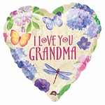 "18"" Grandma Love Balloon"