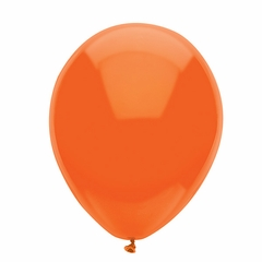 "11"" Bright Orange Latex Balloons"