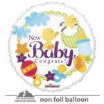 "18"" New Baby Gellibean Balloon"