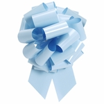 Extra Large Light Blue Pull Bow
