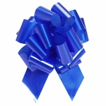 Extra Large Royal Blue Pull Bow