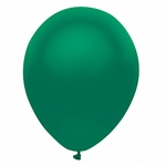 """11"""" Satin Forest Green Latex Balloons"""