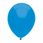 "11"" Bright Blue Latex Balloons"