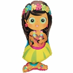 Hula Girl Shape Balloon