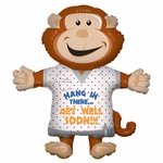 Monkey Get Well Shape Balloon