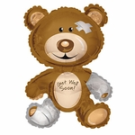 Get Well Bear Shape Balloon