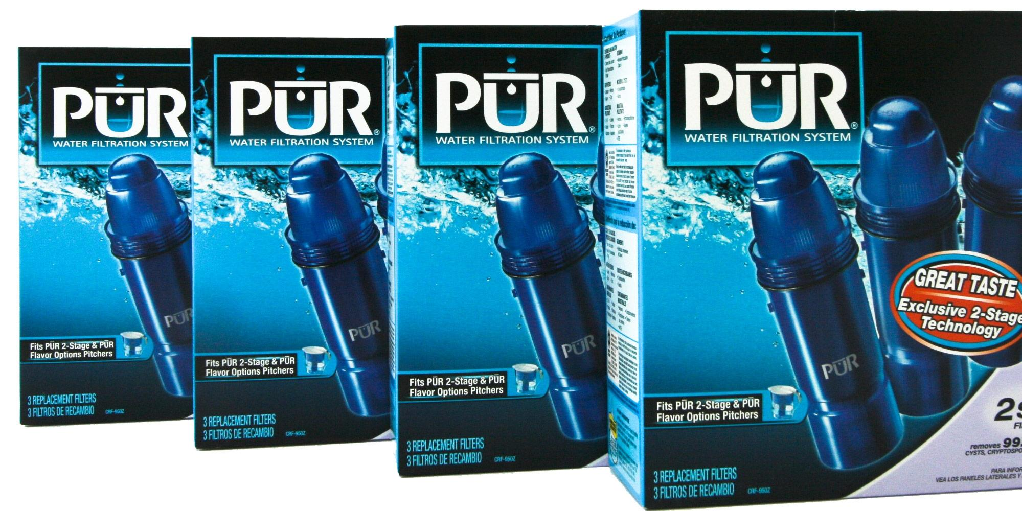 PUR Replacement Filters - 2 Stage & 3 Stage Water Filters