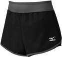 Mizuno Black & Grey Women's Cover Up Short