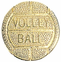 Volleyball Gold Varsity Pin
