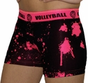Pink Volleyball Splat Flip Band Spandex