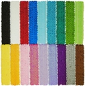 2 Inch Sequin Glitter Stretch Headbands in Lots of Colors