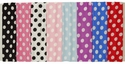 Polka Dots Nylon Headbands - in 8 Colors