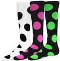 Bubble Dot Knee High Socks - 9 Color Options