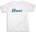 Q-sport Logo Short Sleeve Shirt - in 3 Colors