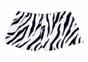 Zebra Stripe Mini-Boxer Shorts - Choice of 22 Sport Imprints on Rear