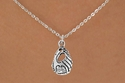 Softball / Baseball Glove Charm Necklaces