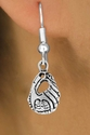 Softball / Baseball Glove Fishhook Earrings